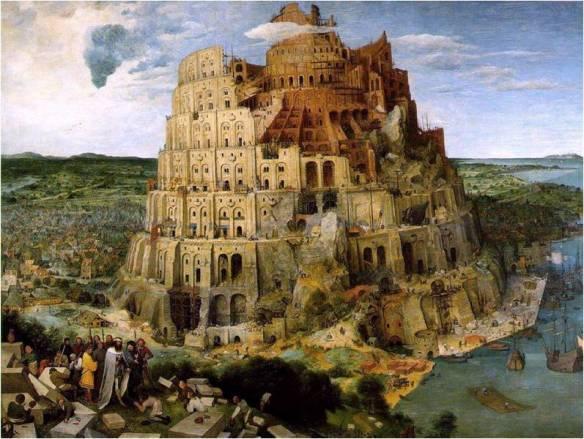 A Torre de Babel é um símbolo da sociedade internacional. O direito internacional é uma das estruturas que facilitam a interação e articulação entre os Estados.