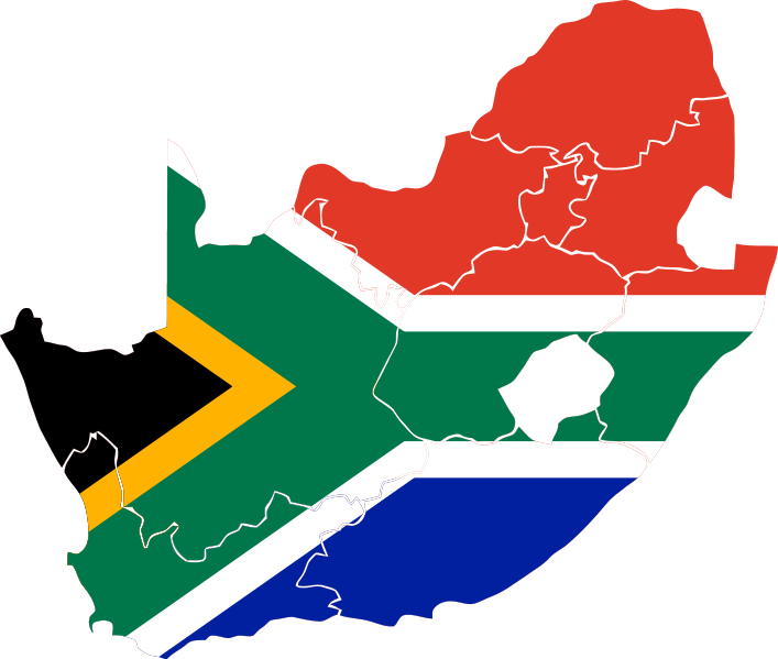 South Africa Map images
