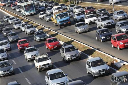 Trânsito é visto em Brasília