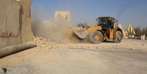 slamic state destroys monastery