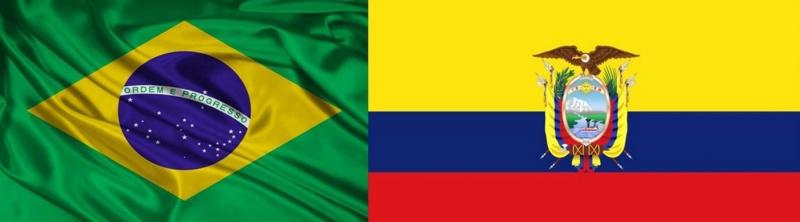 Resultado de imagem para brasil equador comercio