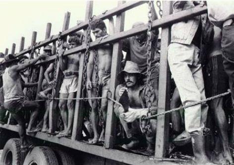 trabalho escravo resposta