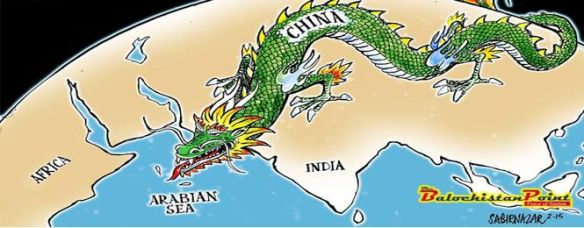 cartoon-China-dragon-to-arabian-sea